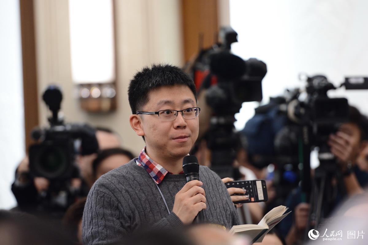 中国青年报记者提问