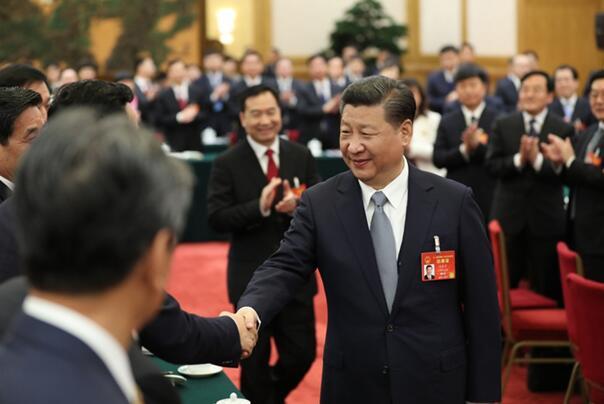 习近平引领中国航船乘风破浪昂扬奋进——两会代表委员谈党中央治国理政方略