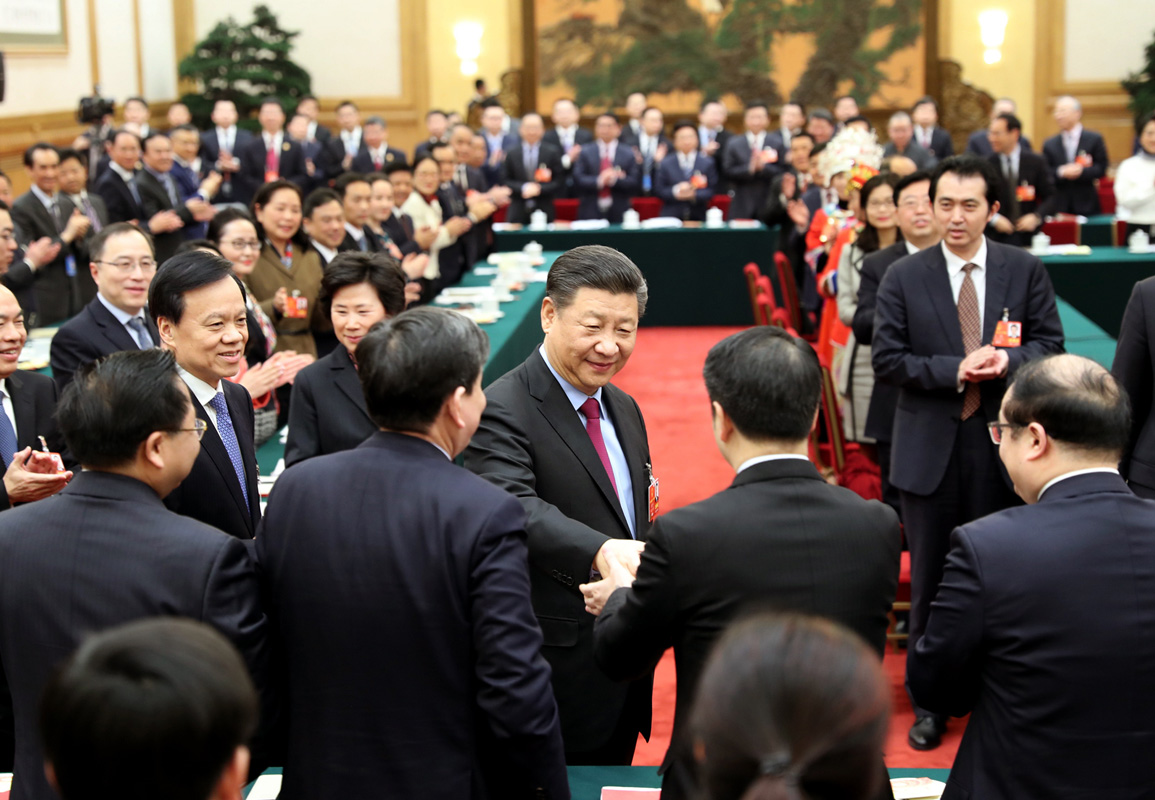 习近平参加重庆代表团审议