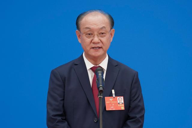全国政协委员王阶接受媒体采访